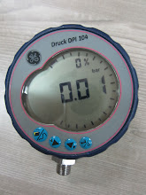 DRUCK DPI 104 PRESSURE DIGITAL TEST GAUGE # 1000 psi (used)