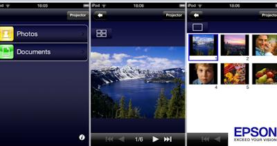 Tu iPad puede convertirse en un proyector, gracias a una app de Epson