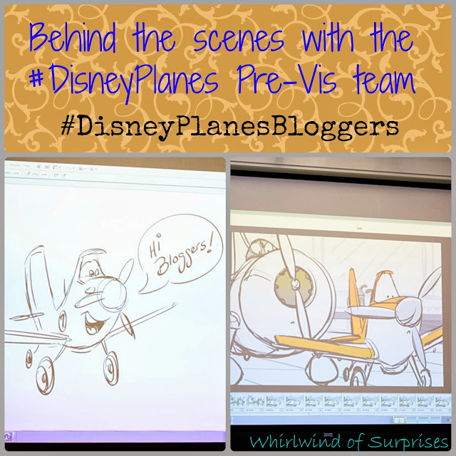 Behind the Scenes with the #DisneyPlanes Pre Vis team #DisneyPlanesBloggers