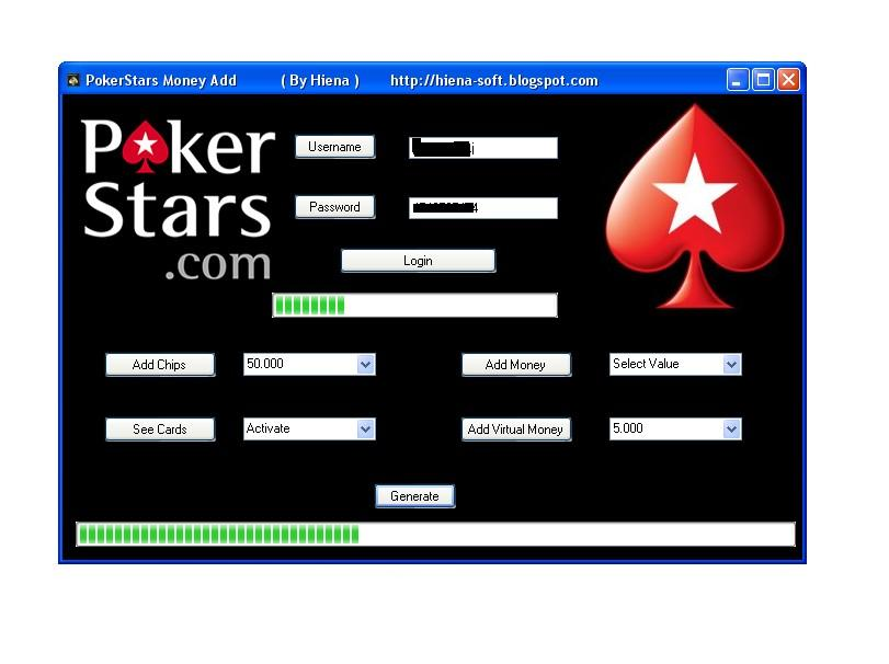 Play poker with virtual money