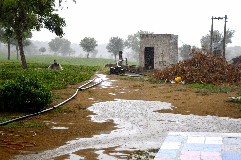 Rain Farm House