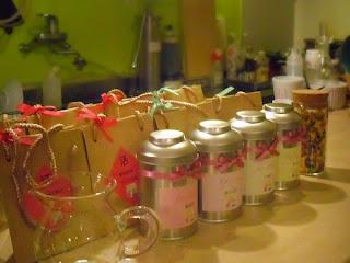 千雅茶房の韓国花茶と韓国茶