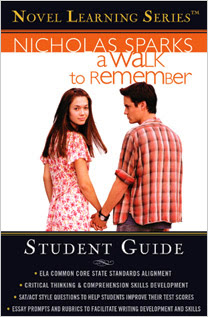 A Walk to Remember novel by Nicholas Sparks pdf.