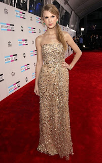 American Music Awards, Taylor Swift, Taylor Swift Red Carpet