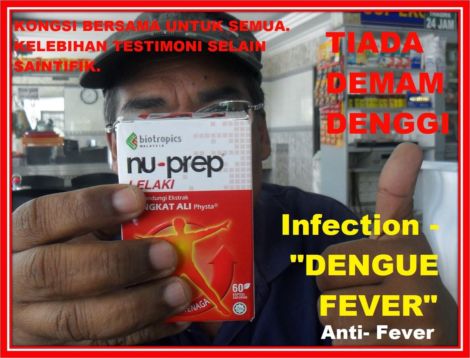 DEMAM DENGGI 'dengue fever' Kelebihan CEPAT Bertenaga Tanpa Bantuan Bahan Terlarng / DADAH