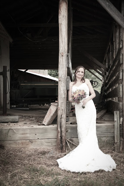 Vintage Bridal Portrait