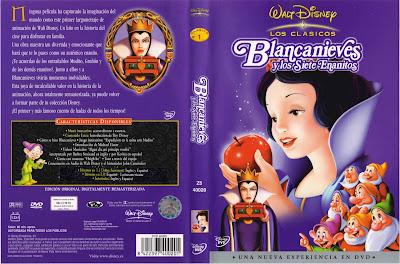 Blancanieves y los Siete Enanitos  (1937) | Caratula