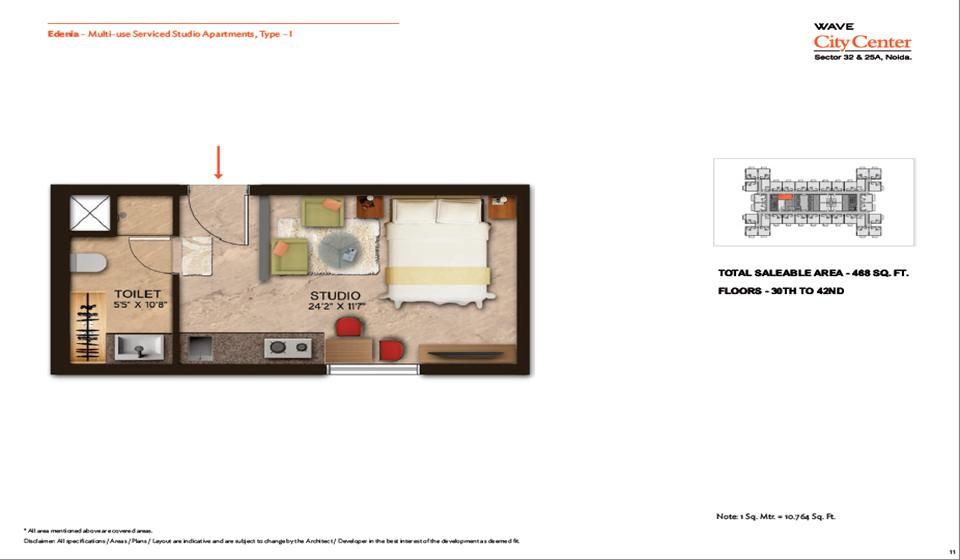 Wave Edenia Floor Plans 2