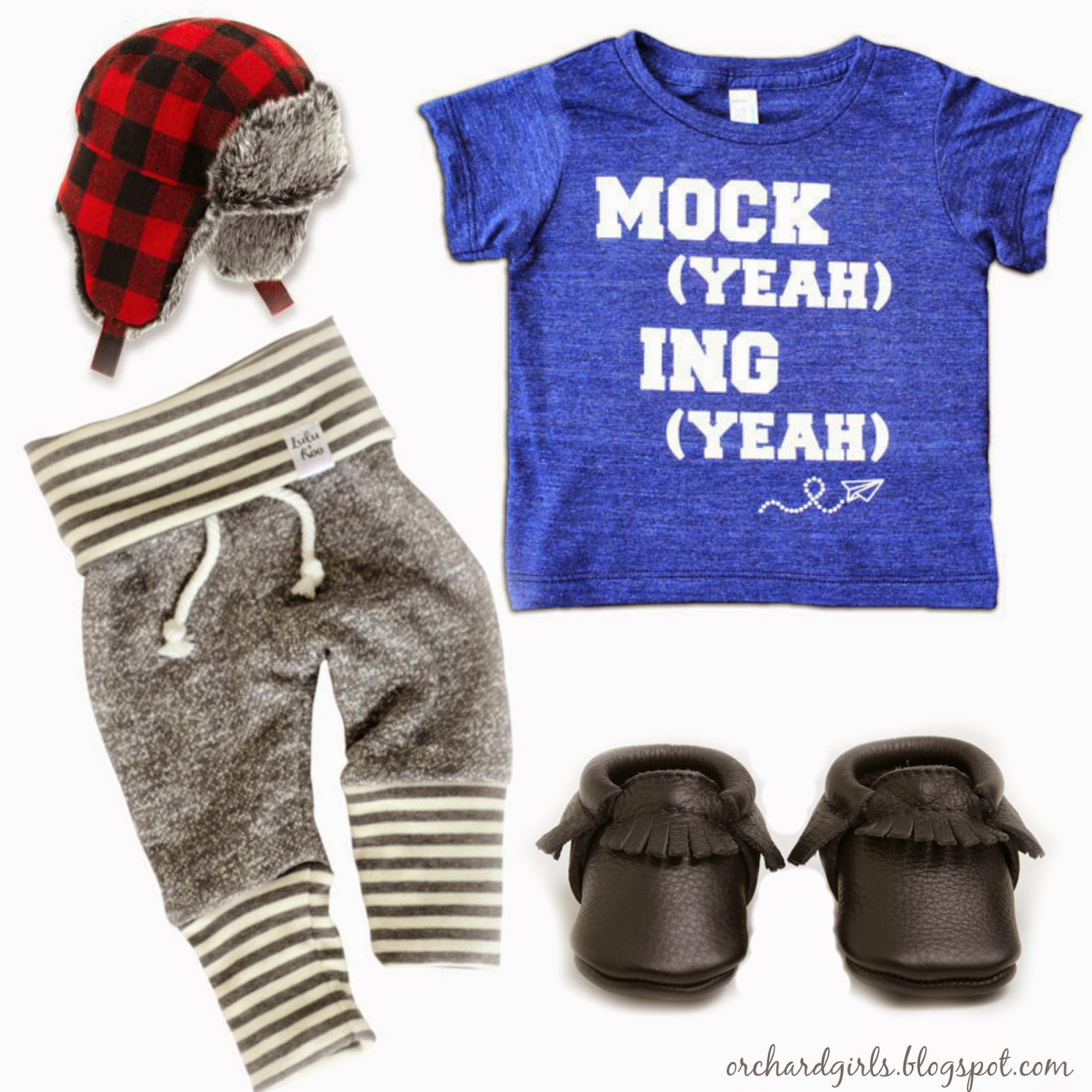 Mini Style Board -- Orchard Girls Monthly Small Business Feature: ShopLuluandRoo @shopluluandroo #shopluluandroo