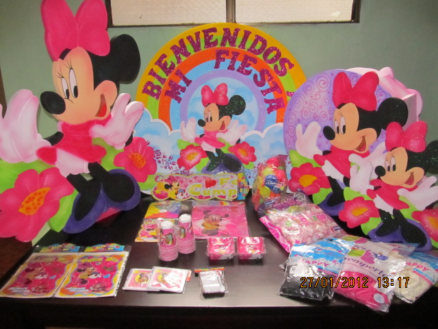 Decoracion Minnie Mouse Fiestas Infantiles