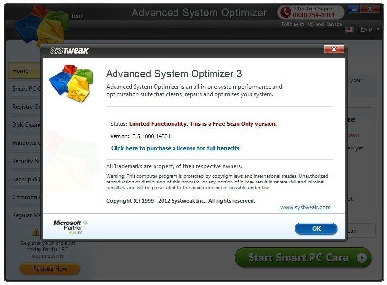 Advanced system optimizer 3 serial number 2017