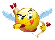 Cupid Facebook Smiley