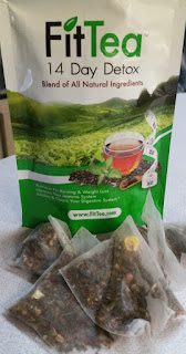 fittea 14 day program bag and teabags