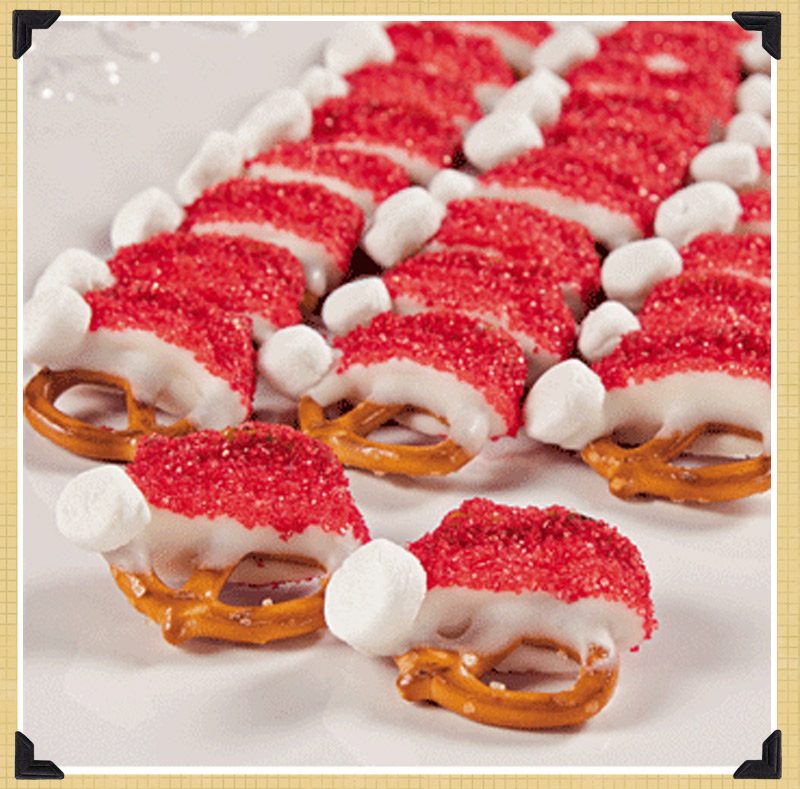 Spotted hearted pinterest holiday recipes the for Pics of christmas desserts