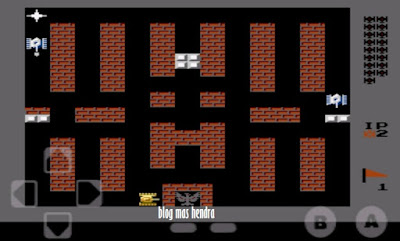 Tampilan Game Battle City - Blog Mas Hendra