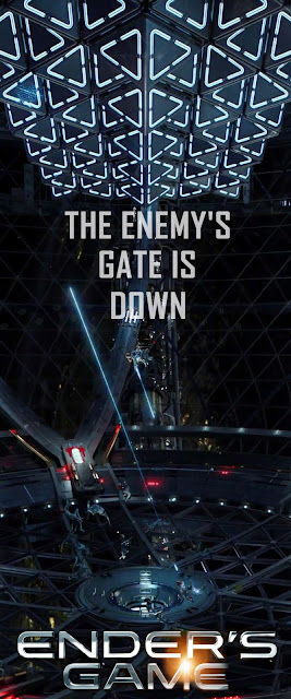 Ender's Game Poster, The Enemy's Gate is Down by Darian Robbins