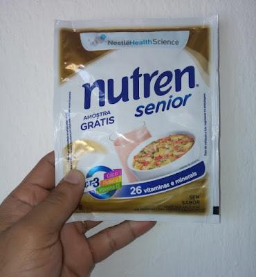Amostra Grátis Nutren Senior Nestlé