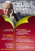 Le Reliquie del Beato Giovanni Paolo II nella nostra comunità.