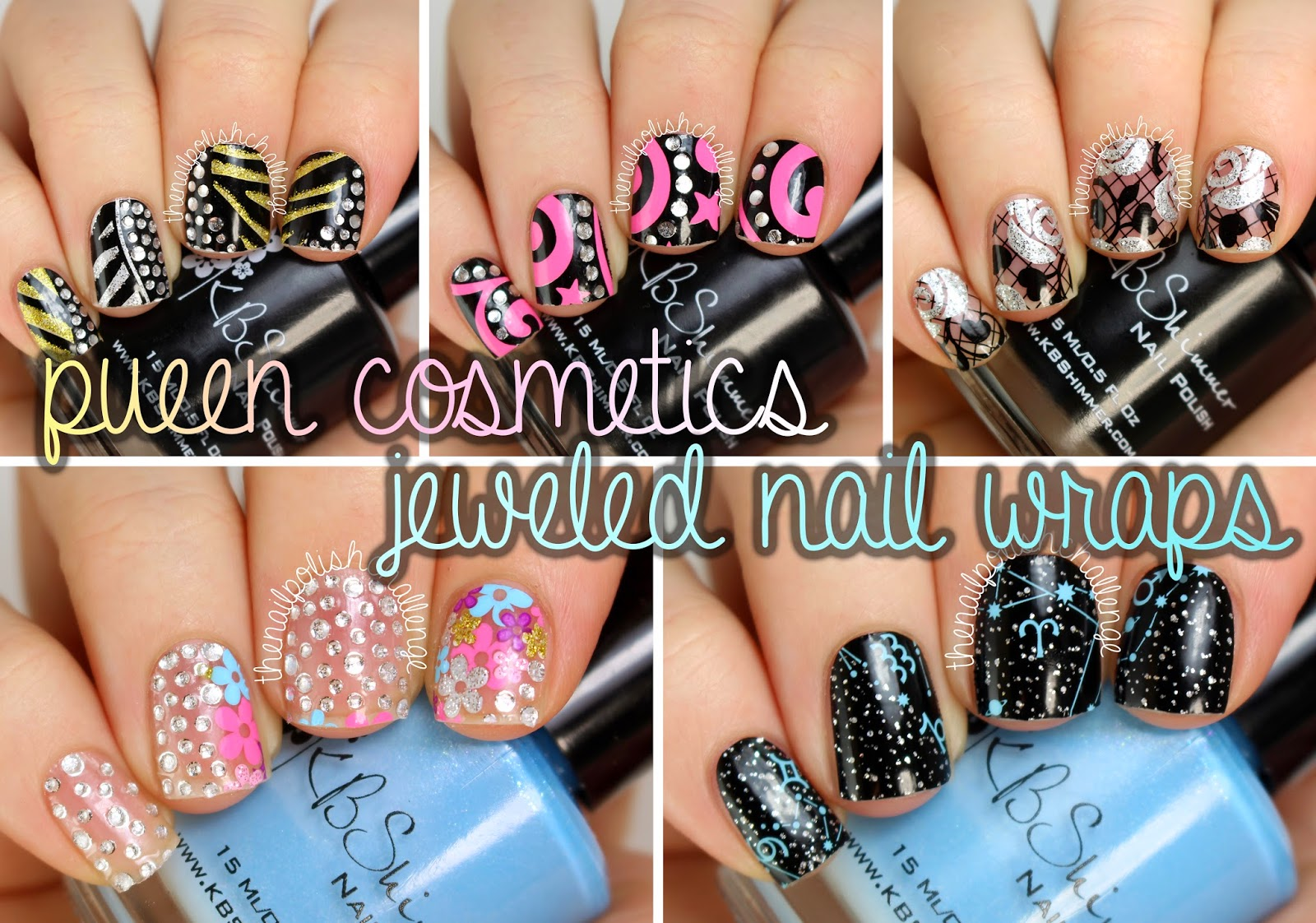 Kelli Marissa: PUEEN Nail Art Wraps: Review