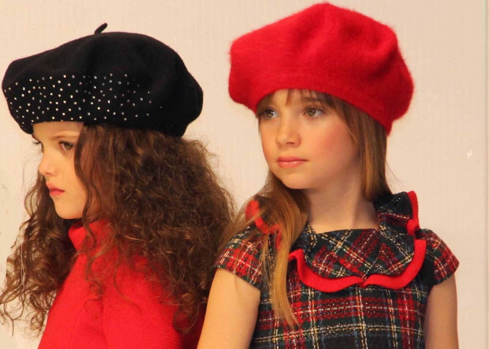 Lo que se llevará. Moda infantil para el próximo invierno. El rojo y el verde de Sanmar.