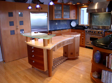 unique fine furniture kitchen island