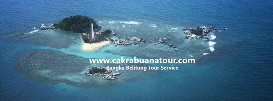 tempat wisata pantai Pulau Lengkuas - Belitung