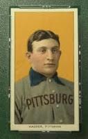 Tarjeta de beisbol de Honus Wagner