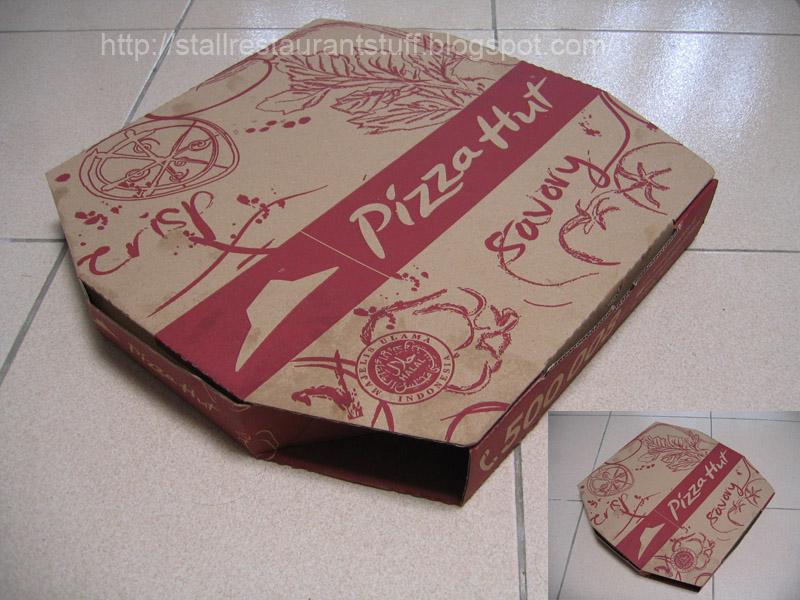 Pizza Hut Box For Delivery Or Take Home 2013