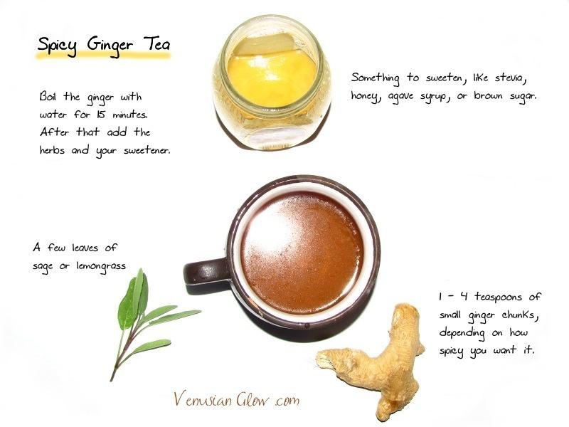 hot spicy ginger tea recipe