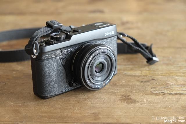 Fotografia del Fujinon XF 27mm su Fuji X-E2