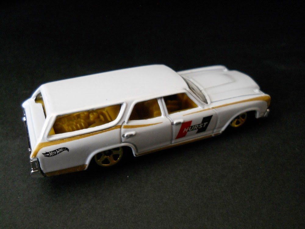 hurst Chevrolet Chevelle SS Wagon de Hot Wheels de 1970