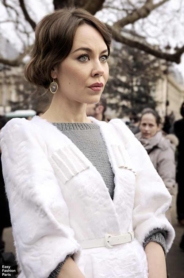 LaRiNNe: StreetStyle Szombat. / Ulyana Sergeenko.