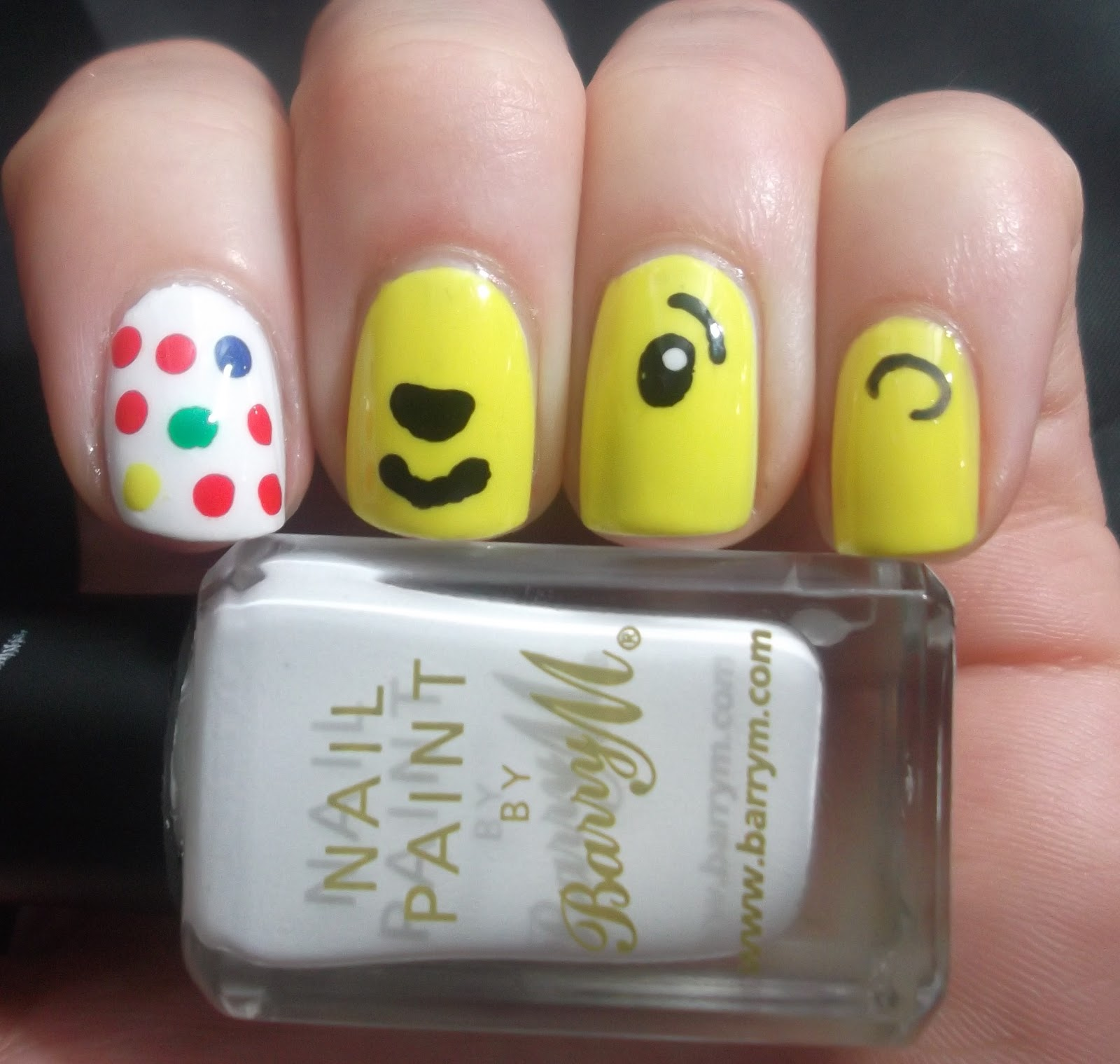 Lou Is Perfectly Polished Children In Need 2012 Nail Art