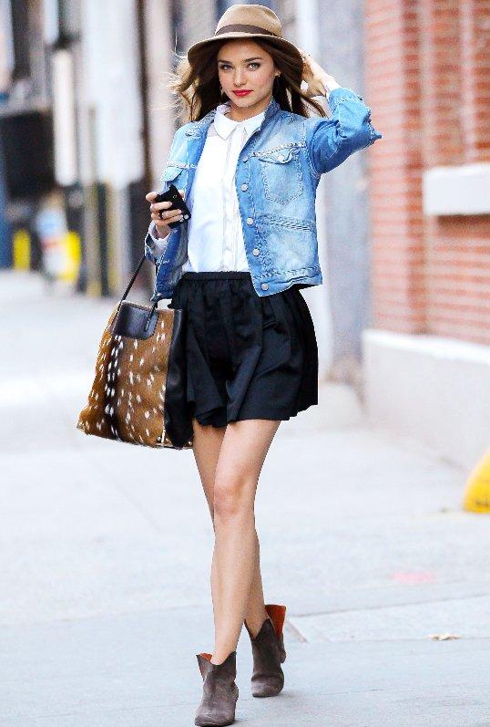 Miranda Kerr Street Style 2013 Krazy Fashion Rocks