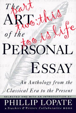 personal essay anthologies