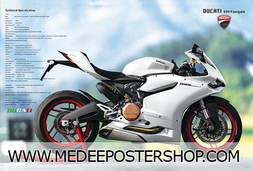 Ducati Big Bike Poster - 4735