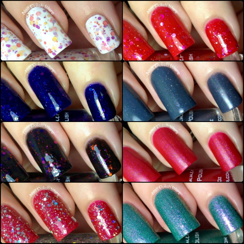 Nail Polish Wars: KBShimmer Fall 2013 Collection Swatch & Review
