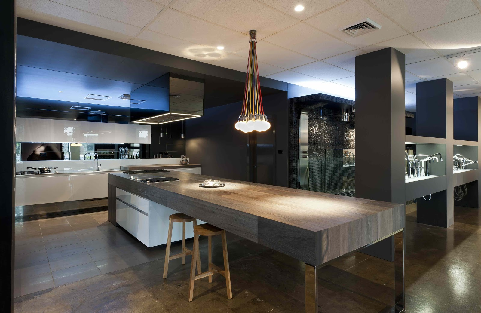 Minosa the cooks kitchen in south melbourne by minosa for Plan cuisine americaine