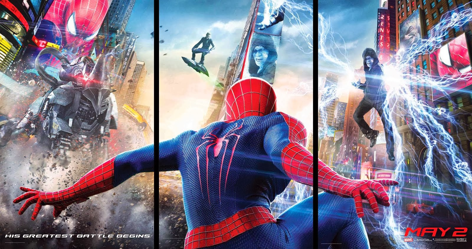 The Amazing Spider-Man 2: El Poder De Electro (17-04-2014)