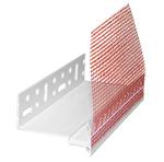 Profil de soclu cu picuratir din PVC (plastic) Baumit - elimina transferul termic