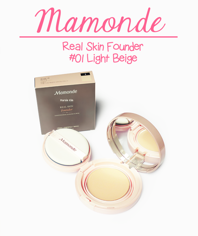 Mamonde Real Skin Founder Review and Swatches