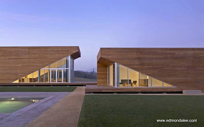 Casa de estilo Contemporáneo al norte de California