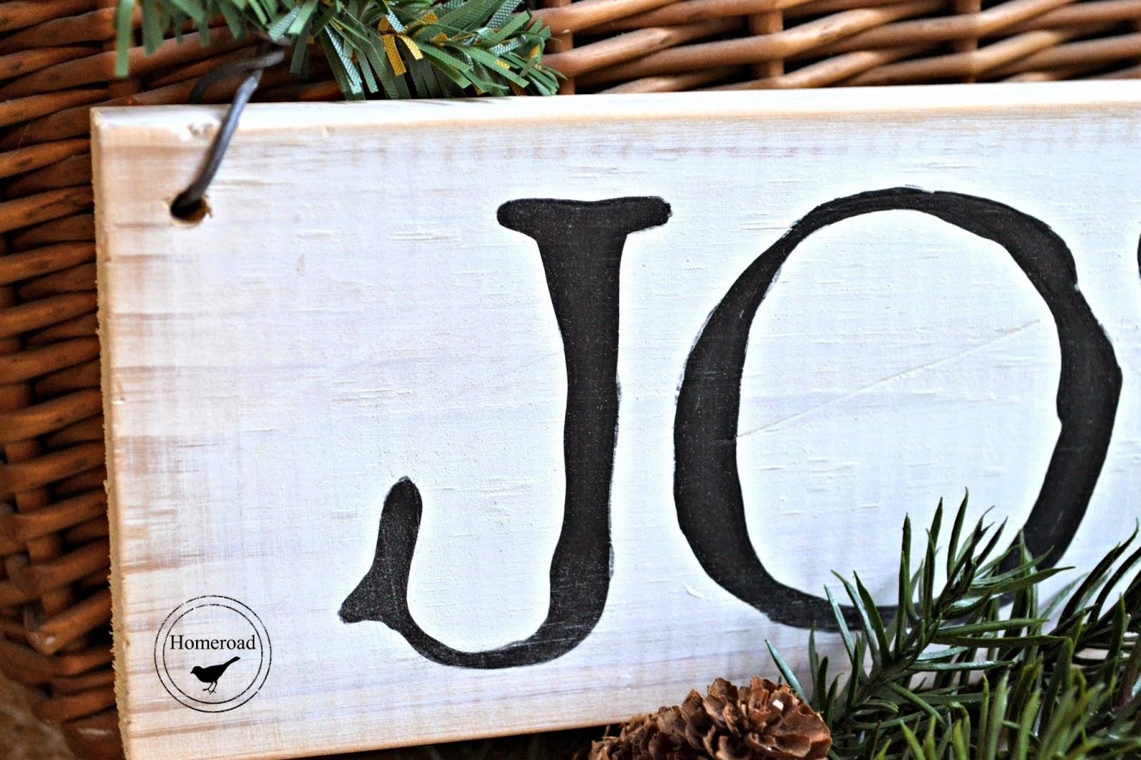 A Simply Joyful Sign Tutorial www.homeroad.net