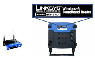 Linksys WRT54G firmware