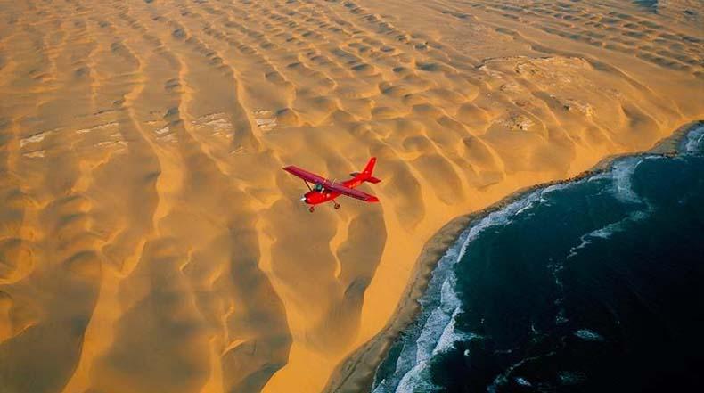 Desierto del Namib, donde el desierto se encuentra con el Océano