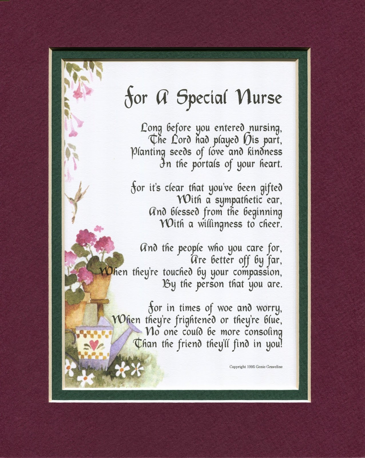Special Wedding Gift For Niece : You can see this poem along with others at my website