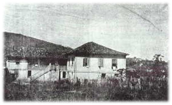 Foto provável  da fazenda do Dr. Luís Fortes Bustamante e Sá.