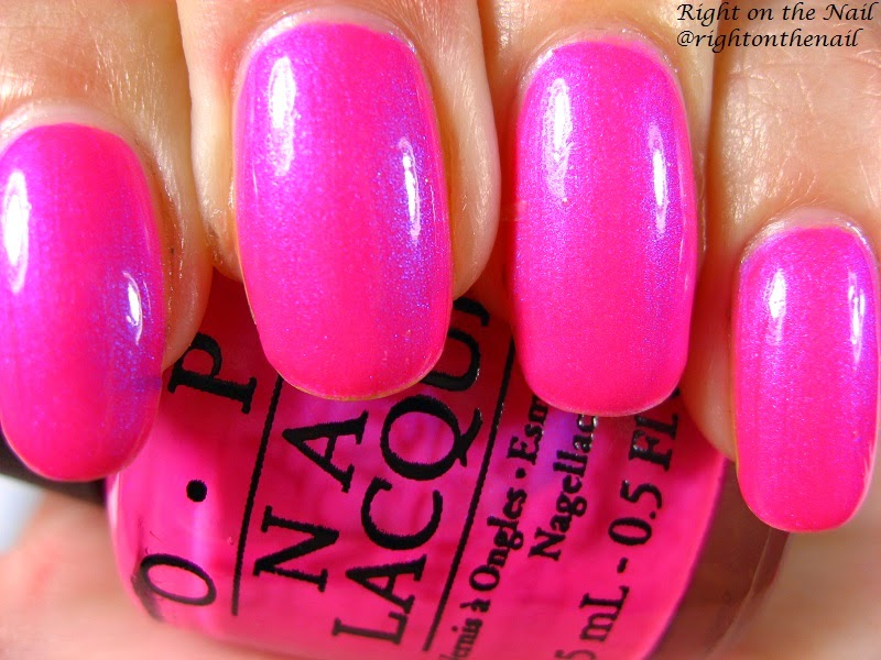 Right on the Nail: OPI 2014 Neon Collection Swatch and Review ...