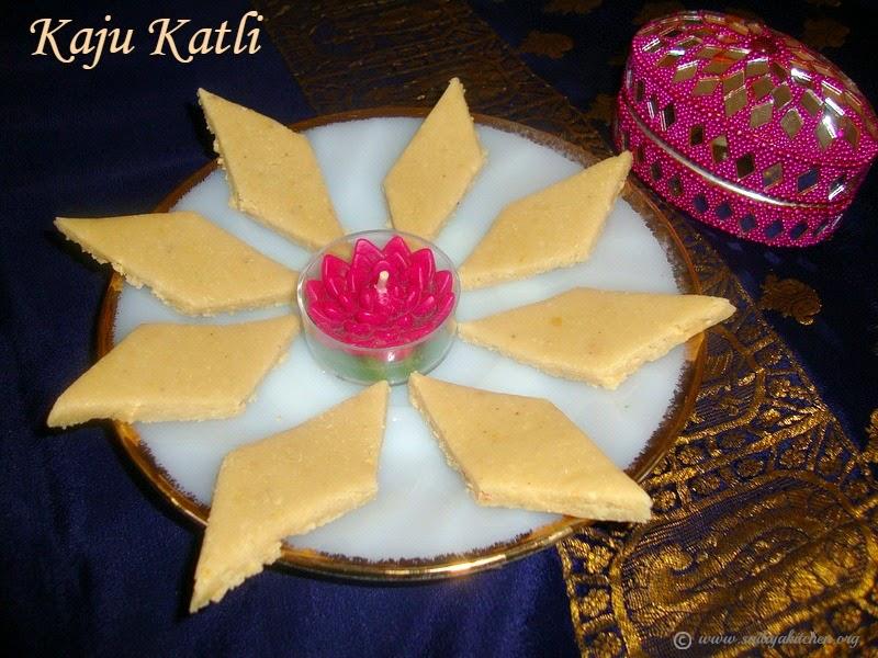 images for Kaju Katli / Kaju Katli Recipe / Cashew nut Burfi / Kaju Burfi Recipe - Easy Diwali Sweets
