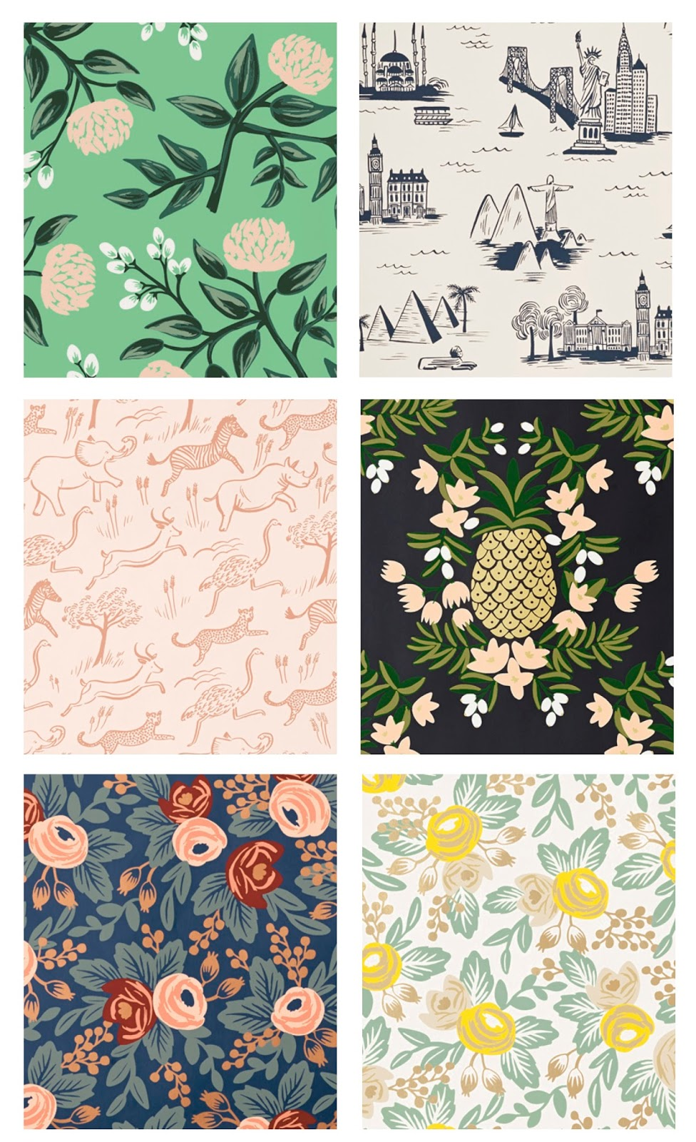 Dreams in HD: Interiors :: Introducing Rifle Paper Co ...
